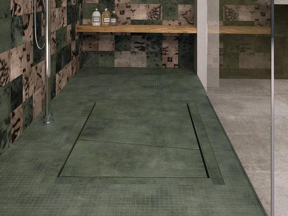 Piastrelle bagno verde smeraldo. elegant bagno verde acqua with